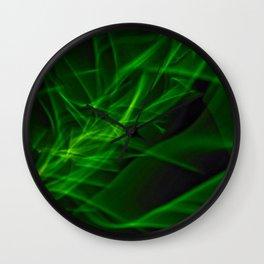 Glowstick Light painting Wall Clock