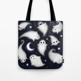 night sky ghosties Tote Bag