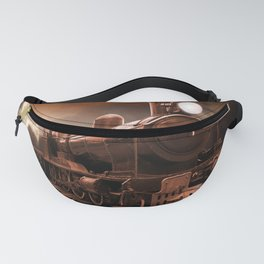 The Steam Trains Final Trip Fanny Pack