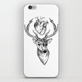 Hipster Deer iPhone Skin
