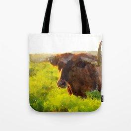Texas Longhorn 2 Tote Bag