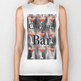 Cocktails Biker Tank