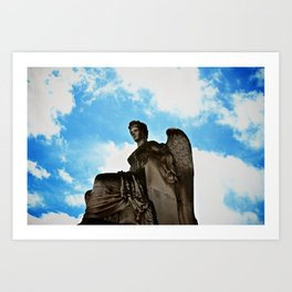 ANGELS & DEMONS Art Print