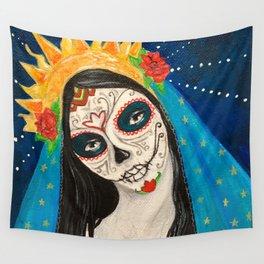 Mary Muerta Wall Tapestry
