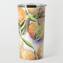 Sweet Clementines Travel Mug