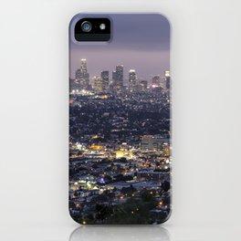 Los Angeles Nightscape No. 1 iPhone Case