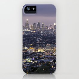 Los Angeles Nightscape No. 1 iPhone Case