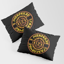 Inspire Pi   Math Science Numbers Pillow Sham