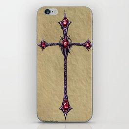 Cross Design iPhone Skin