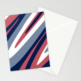 Abstraction. Abstract waves. Camouflage. Stationery Cards