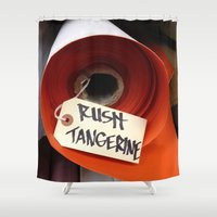 rush Shower Curtains featuring Rush 2 by magentaRaven