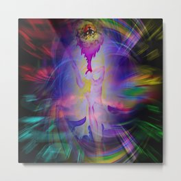 Abstract Perfection 38  Heavenly apparition Metal Print