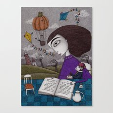 November Stories Canvas Print