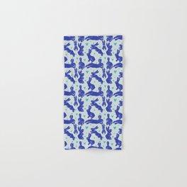 Bunny love - Blueberry edition Hand & Bath Towel