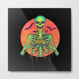 I Love Halloween Metal Print