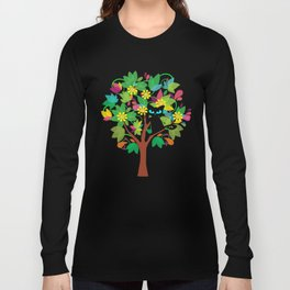 I tried to go to school but I got stuck in a tree instead Long Sleeve T-shirt