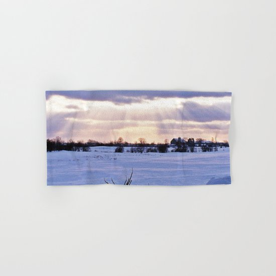 Sun Rays on the Farm Hand & Bath Towel