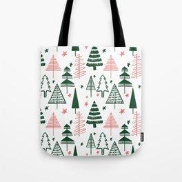 CHRISTMAS TREE - GREEN Tote Bag