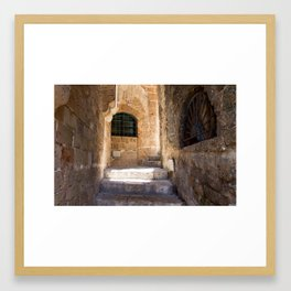 Hidden places Framed Art Print