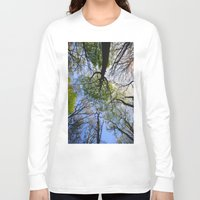 woodland Long Sleeve T-shirts featuring Woodland by Shadoisk