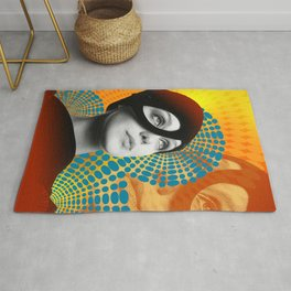 Supermodel Donna 2 - Supermodels of the Sixties Series Rug