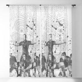 The Haka - 3 Sheer Curtain
