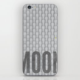 Moon Minimalist Poster iPhone Skin