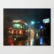 Streetcar Interruptus Canvas Print