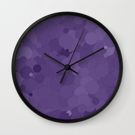 Imperial Palace Bubble Dot Color Accent  Wall Clock