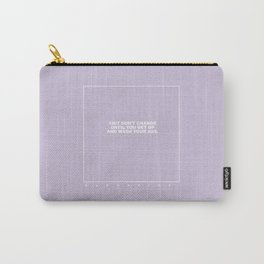 kenny (lilac) Carry-All Pouch