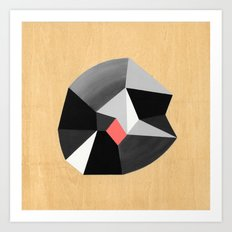 6x6 Shape No:02 Art Print