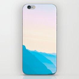 Candypastel Mountains iPhone Skin