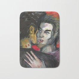 vampire gay love Bath Mat