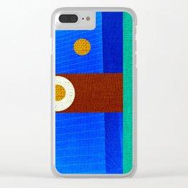 Design Geometric Arte Clear iPhone Case