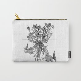 Waterlilies and goldfishes Carry-All Pouch