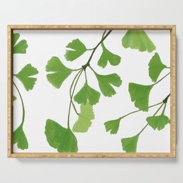 Ginko leaves Serving Tray