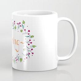 Summer Flower Daydreams Coffee Mug