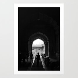 Path of the righteous Art Print