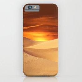 Desert Sun Landscape Photographic iPhone Case