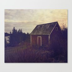 Nova Scotia Barn Canvas Print