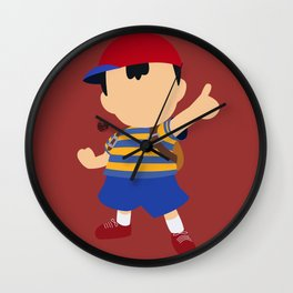 Ness(Smash) Wall Clock