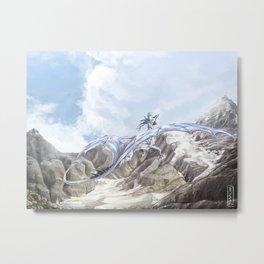 Mountain Dragon Metal Print
