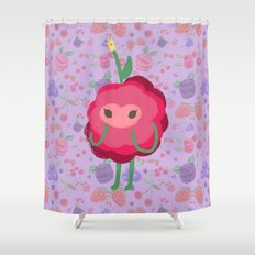 Wild Berry Princess. 22. By H.n.C $68.00. Juicy Cranberry Shower Curtain