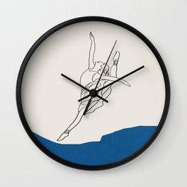 dance movements II Wall Clock