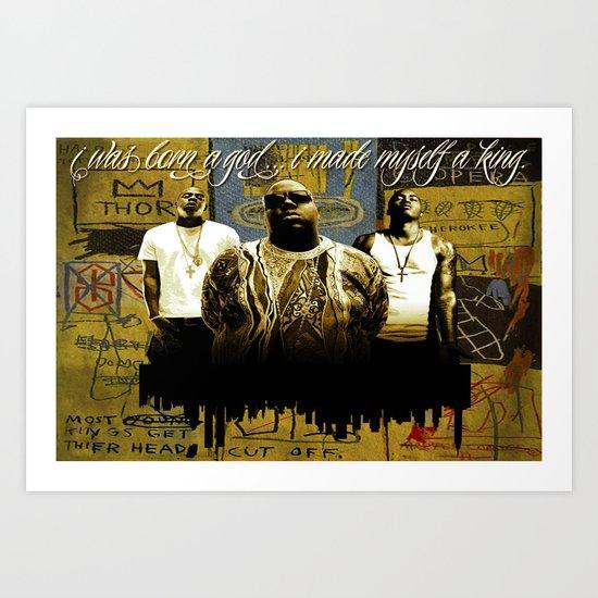 3 Kings Art Print