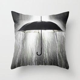 Rain Down Throw Pillow
