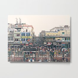 Full Indian Streets II Metal Print