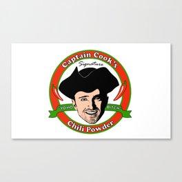 Captain 'Cook' Canvas Print