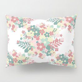 Abstract Flowers Pillow Sham