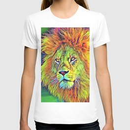 AnimalColor_Lion_009_by_JAMColors T-shirt